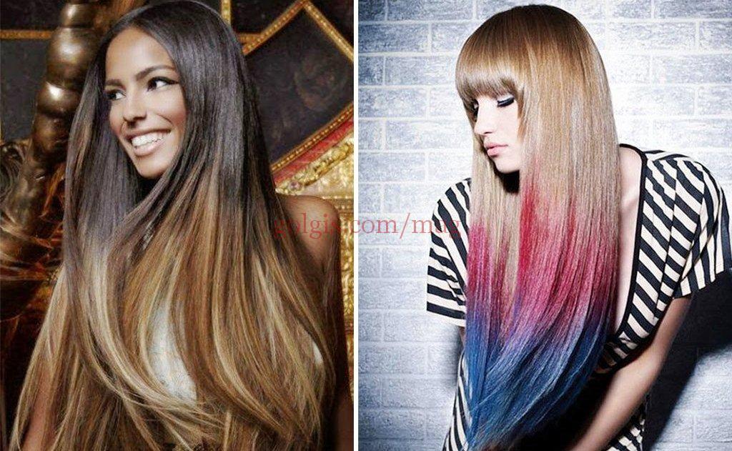 رنگ مو Ombre